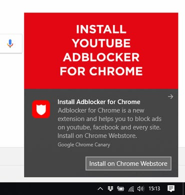 Chrome extension spamming users with popups