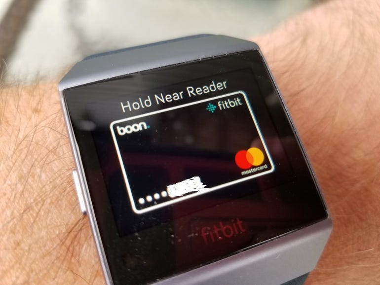 Fitbit Pay in action