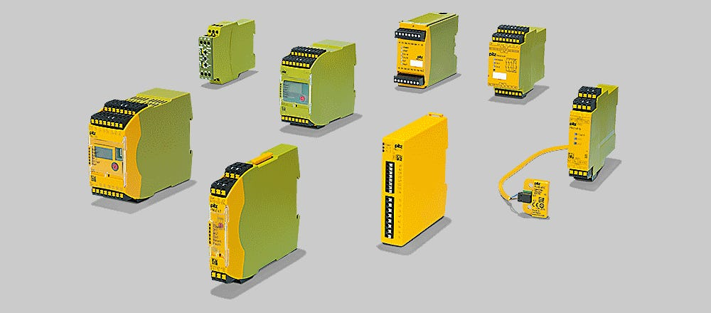 Pilz sensor automation