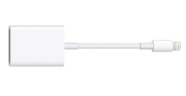 SD Card Camera Reader for iPhone, iPad and iPad Pro