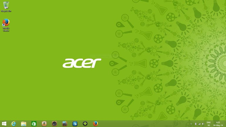Aspire V5 Windows 8.1 Update
