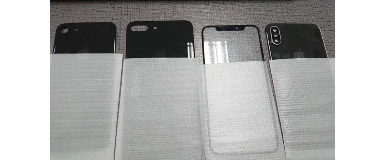 The iPhone 8 will have twice as much glass for you to break