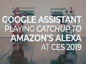 Google Assistant playing catchup to Amazon's Alexa at CES 2019