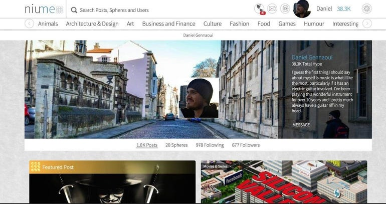 Niume new blogging platform is taking the web by storm ZDNet