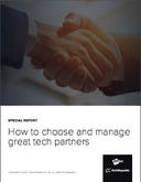 Special report: How to choose and manage great tech partners
