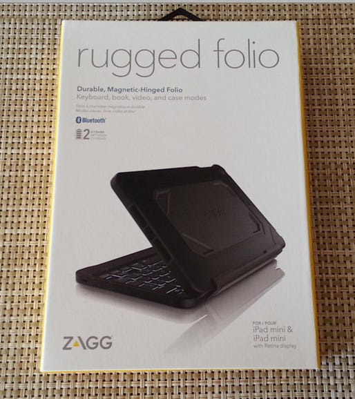 Rugged Folio by ZAGG for the iPad mini