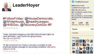 The leaderhoyer account on 7/7/2010.