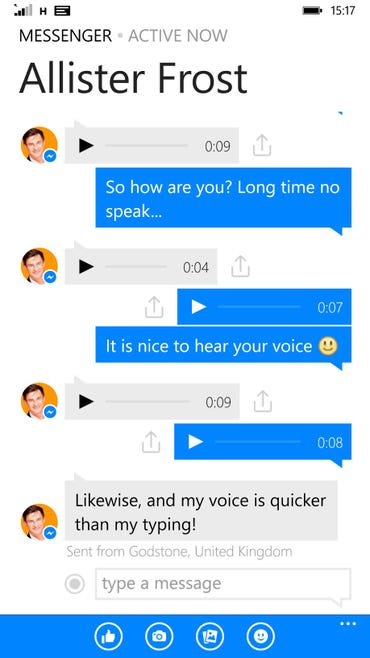 Facebook to add voice transcription to Messenger ZDNet
