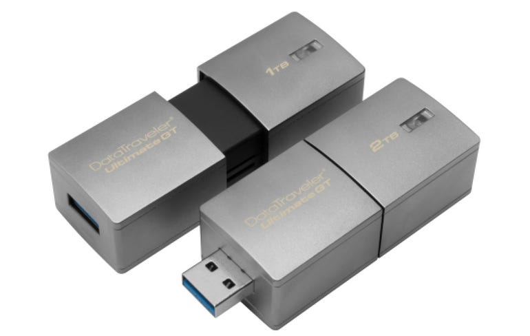 Kingston's new flash drive