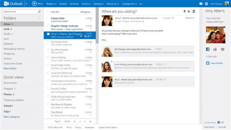 outlook microsoft out of preview