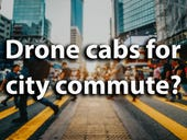 UK startup bets on drone cabs for city commute