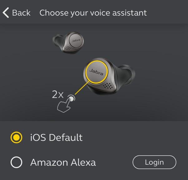 Choose your voice assistant