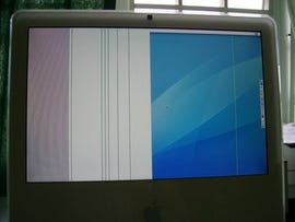 Vertical line issue also plagues some iMacs