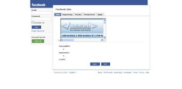 Facebook XSS vulnerability