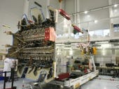 Comms satellite gets ready for launch