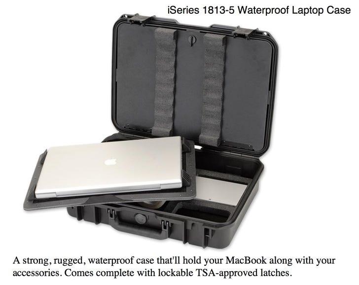 iSeries 1813-5 Waterproof Laptop Case