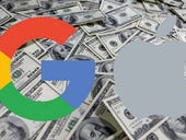 How much does Google pay Apple for that default search spot on the iPhone? $1 billion
