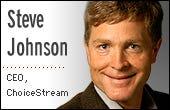 Steve Johnson, CEO of ChoiceStream