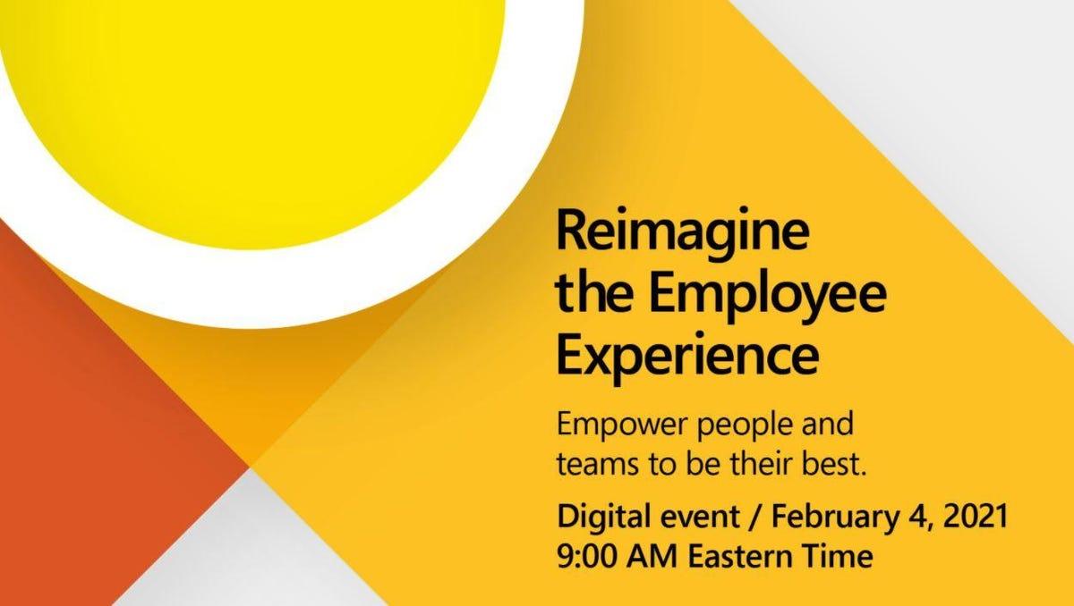 Microsoft: Un événement virtuel autour de l'expérience employé aura lieu le 4février