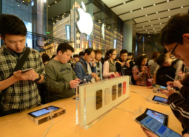 Apple cooperates with China to censor globally