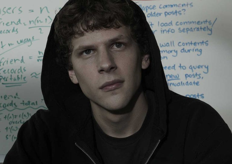 1) The Social Network (2010)