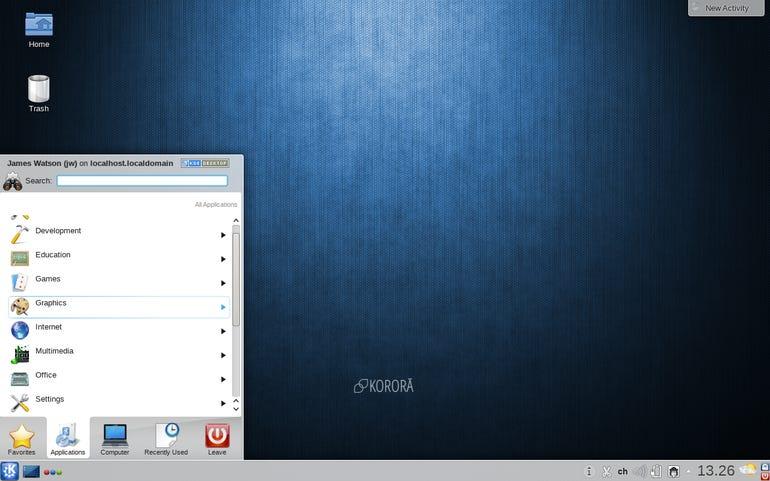 Korora KDE