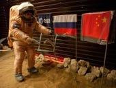 Space volunteers 'land' on Mars