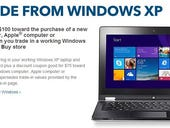 Best Buy offering $100 trade-in credit for Microsoft Windows XP laptops