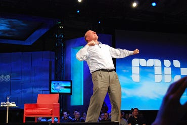 Ballmer: It's all about Web developers