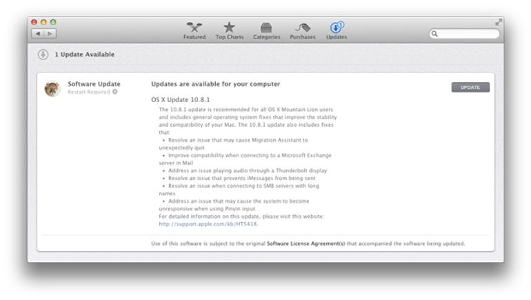 OS X 10.8.1 update released - Jason O'Grady