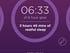 Sleep tracking results