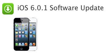 Apple releases iOS 6.0.1 - Jason O'Grady
