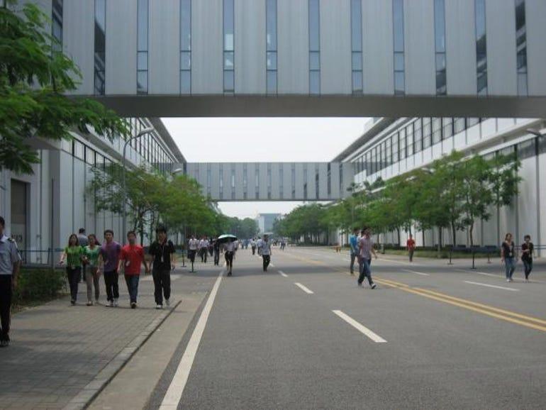 Huawei plant