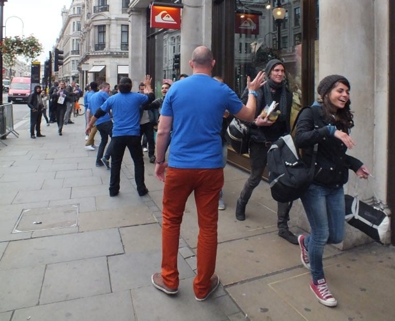iPhone 5 launch in London