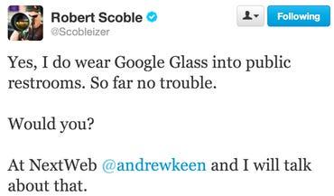 Scoble GG tweet