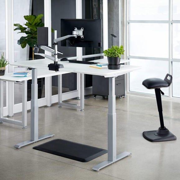 Vari Electric Standing Desk stock photo