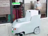 Online robot deliveries reach small grocers