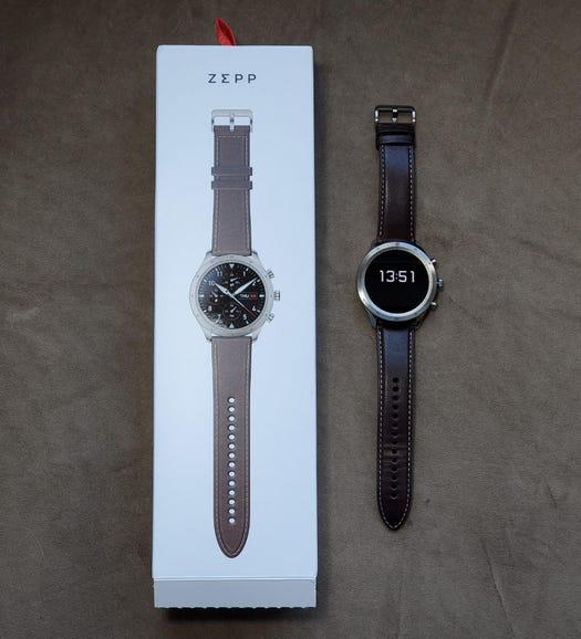 Zepp Z retail package