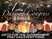 Twelve Days of Congress: gifts for the government that has everything (2013 Gift Guide)