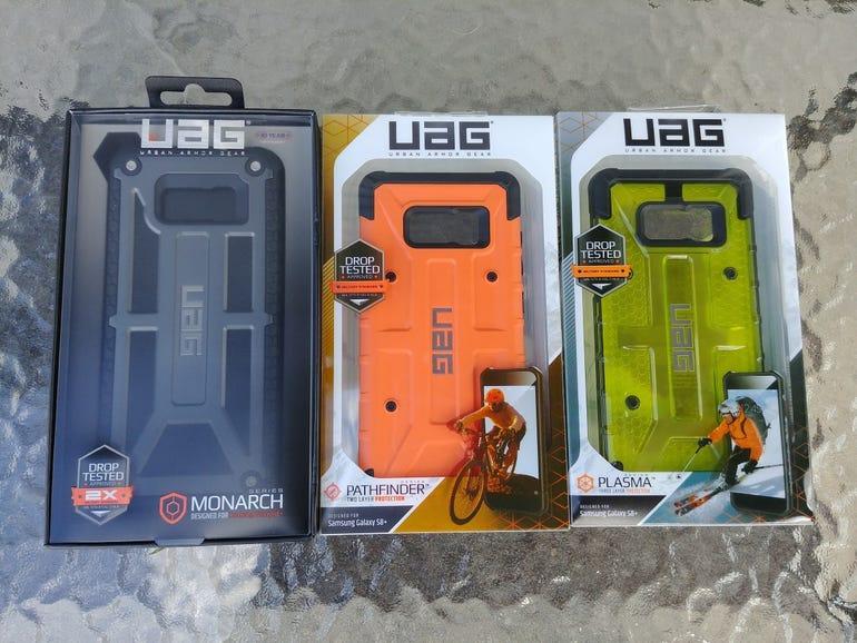 UAG Samsung Galaxy S8 Plus lineup