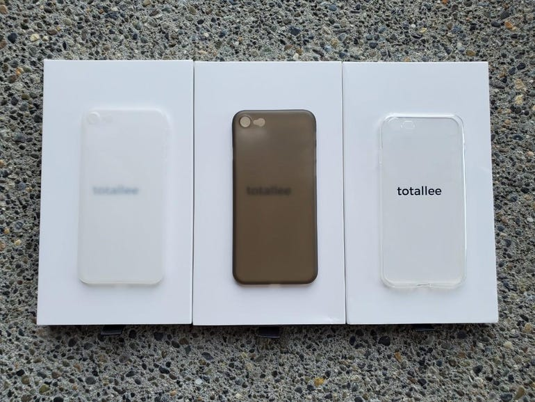 Totallee iPhone SE case collection