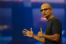 Microsoft CEO Nadella: 'Steer AI away from replacing people'