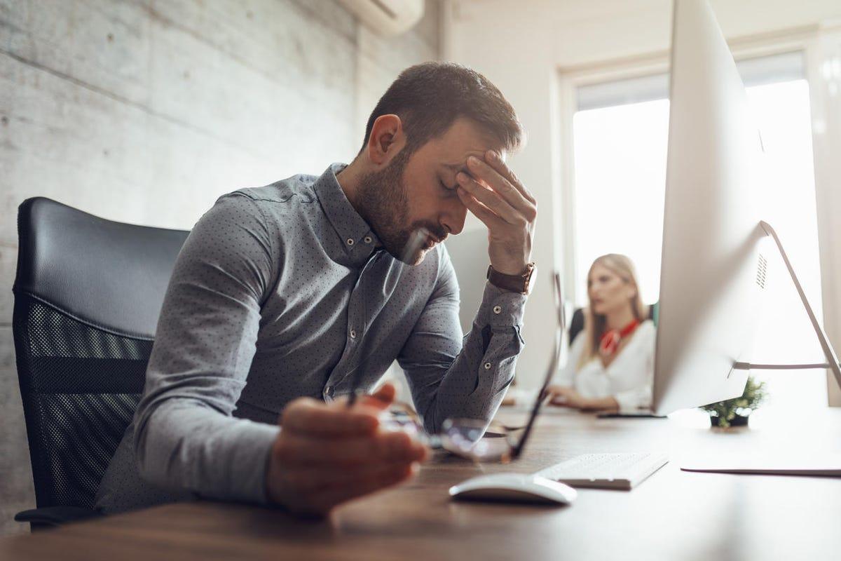 CIO. CXO. Struggling With Occupational Stress
