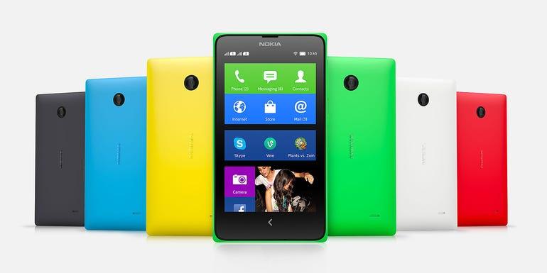 2014: Nokia Android X