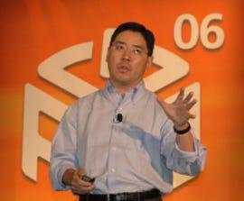 Accenture's Bob Suh speaking at AlwaysOn