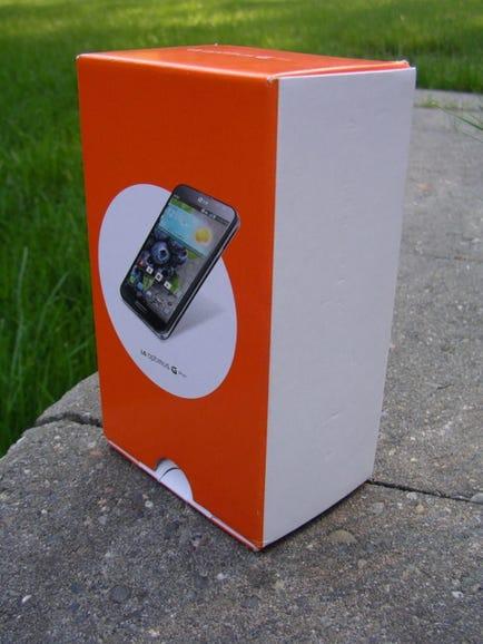 Retail package of LG Optimus G Pro