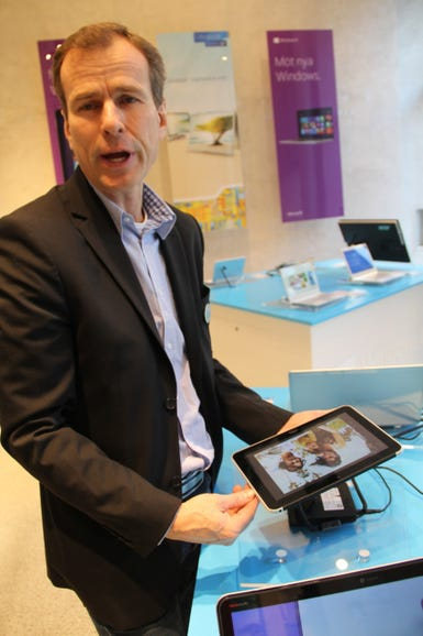 HP shows off the Windows 8 ElitePad