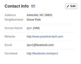 What did you do with my e-mail address Facebook!