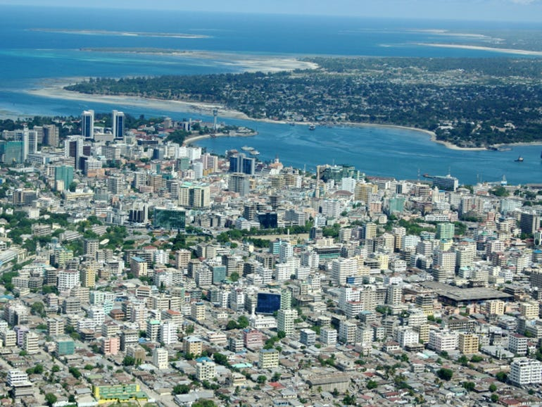 Dar es Salaam, the site of Microsoft's next white space broadband project.