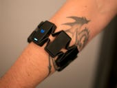 Does the Myo gesture control band shape up in real life, or is the wearable just a gimmick?
